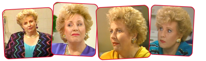 Mary Patchett played by Joan Sydney